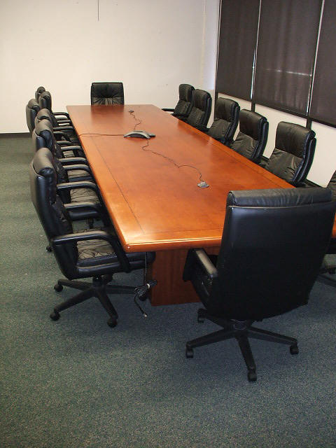 Starman Bros Auctions Dallas - Cherry wood conference table